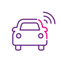 Connected in-vehicle devices for total fleet and driver behaviour visibility