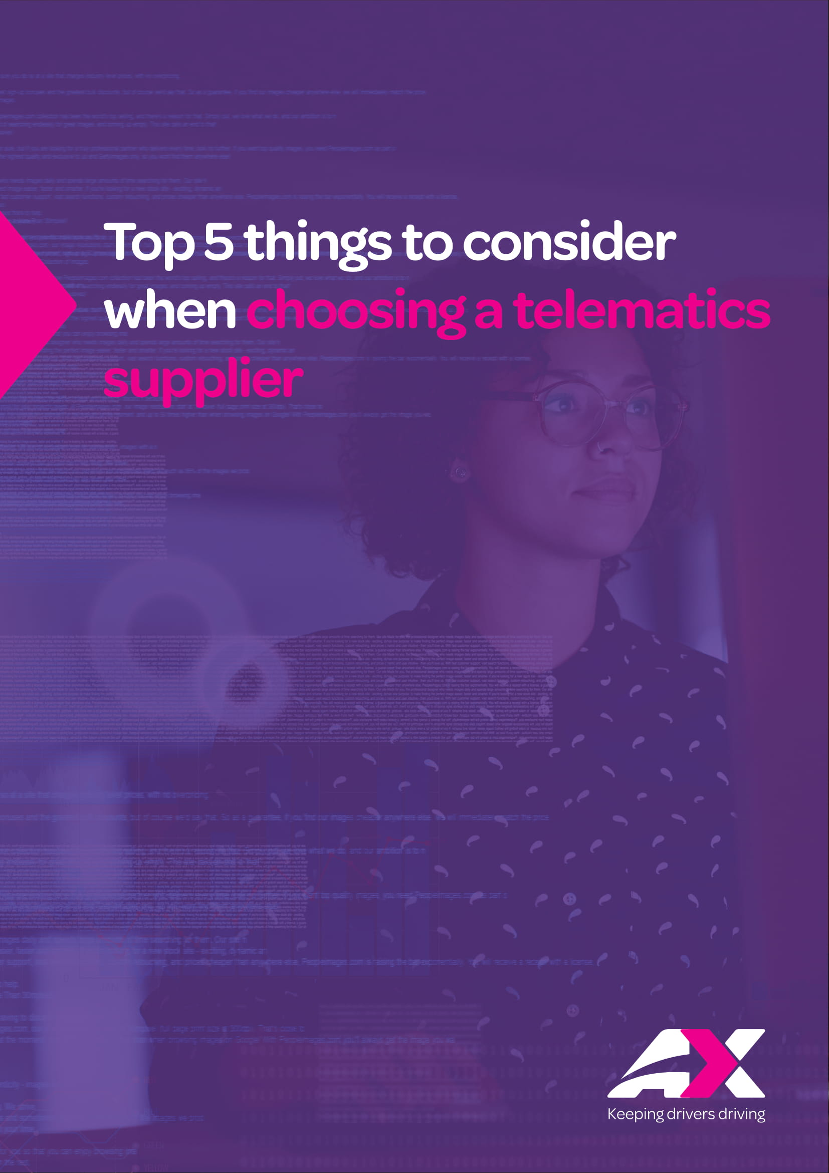 5 things to consider when choosing a telematics supplier