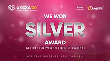 UK CXA 2020 - Silver Award